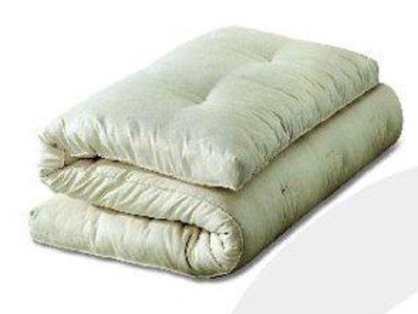 Futon lettino in puro cotone naturale 60x120 cm