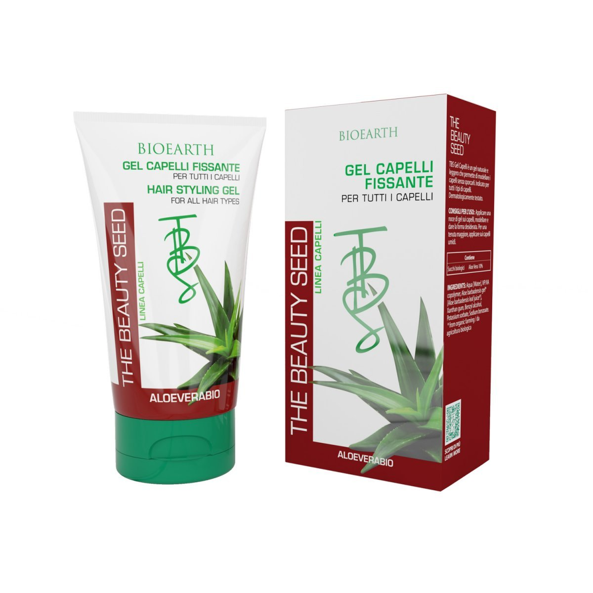 Gel Capelli Fissante all'Aloe The Beauty Seed