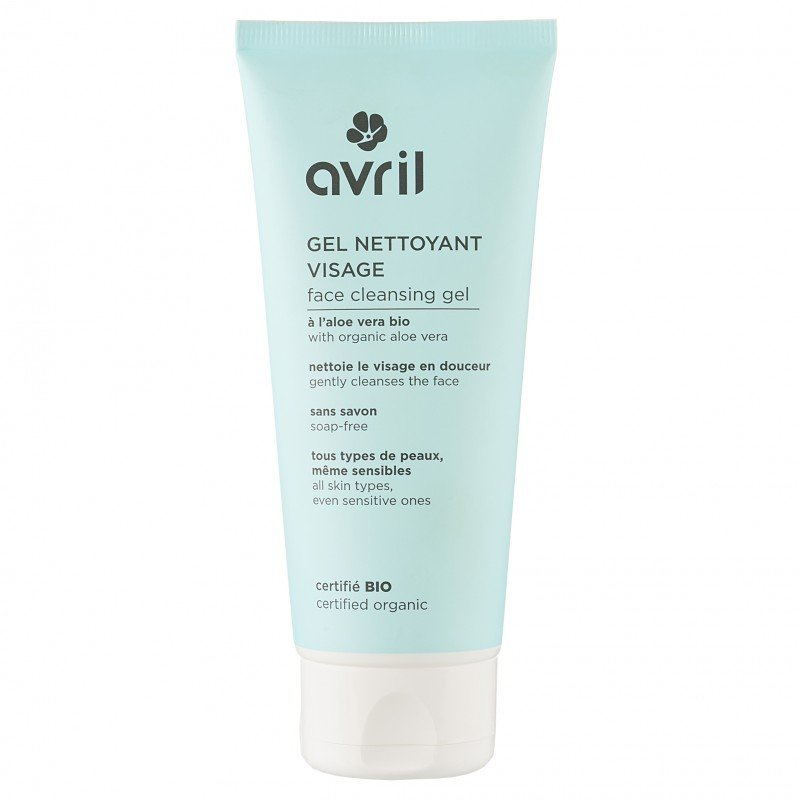 Gel detergente viso Bio all'Aloe Avril
