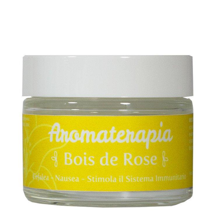 Gel per Aromaterapia al Bois de Rose per Cefalea e Nausea