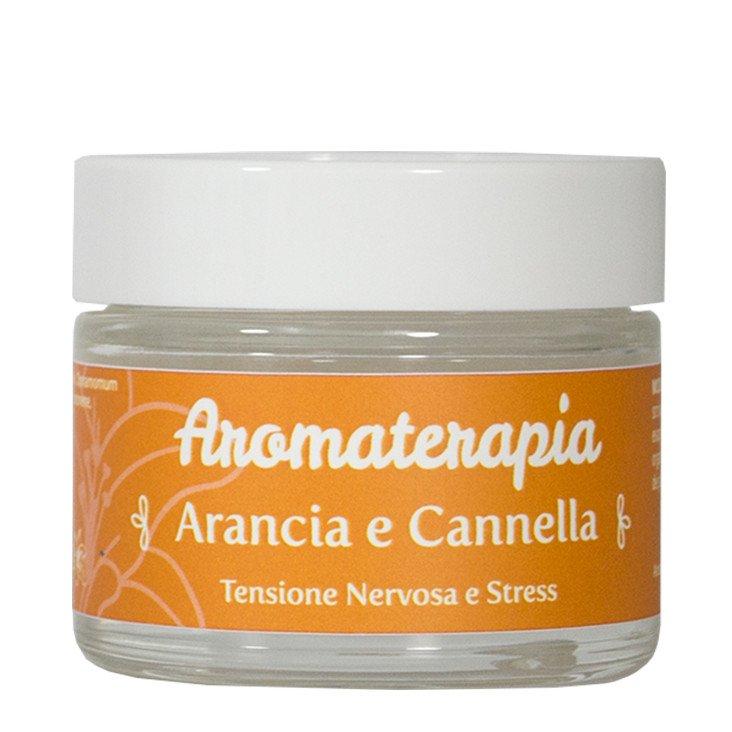 Gel per Aromaterapia all'arancio e cannella: antistress
