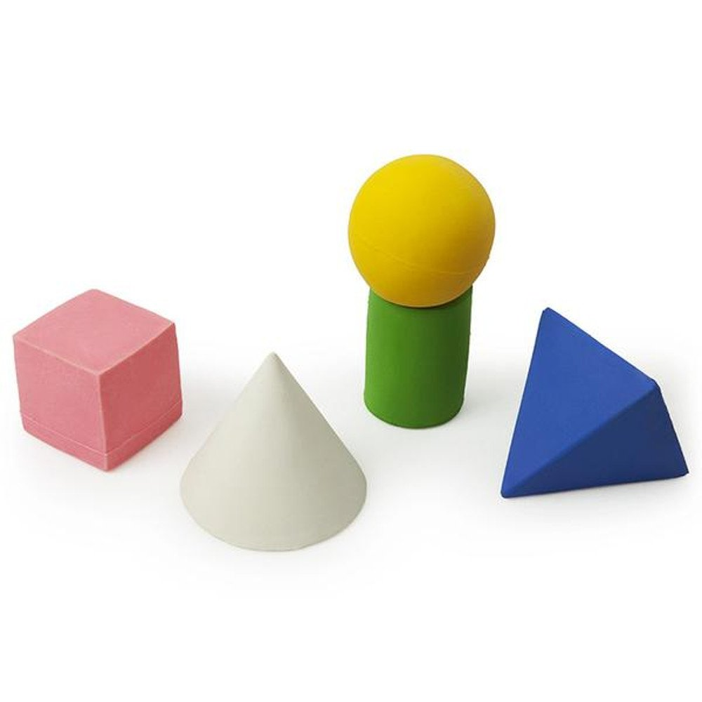 Figure geometriche Oli Carol in caucciù naturale