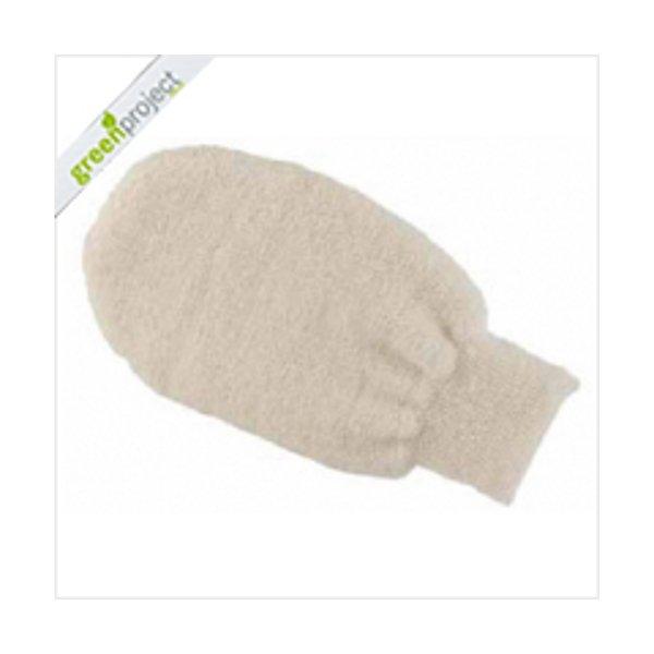 Glove made of fiber nettle