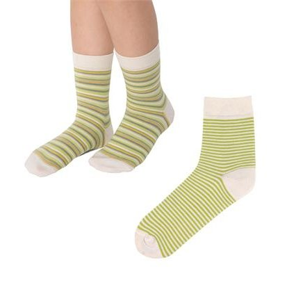Stripes socks in organic cotton