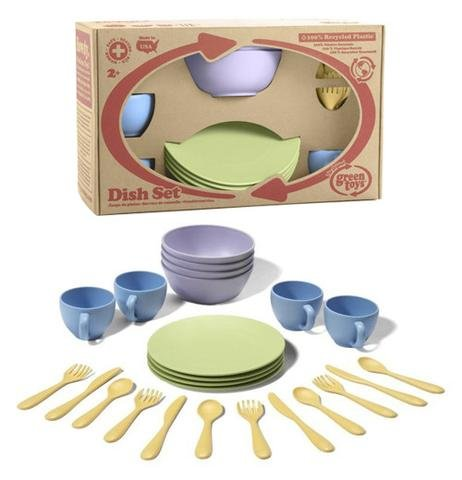 Green Toys Set Piatti