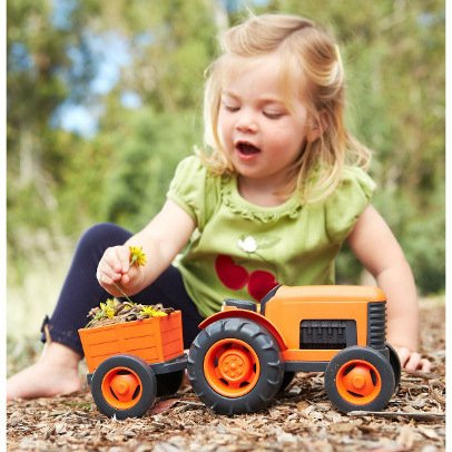 Green Toys™ Tractor with trailer
