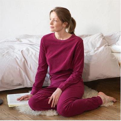 Grenadine woman pyjamas in organic cotton terry