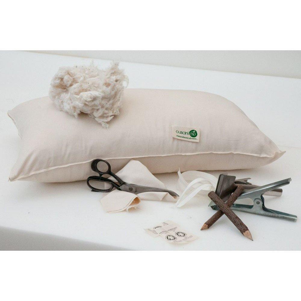 Guanciale lettino cusciniBio in cotone biologico 40x60cm