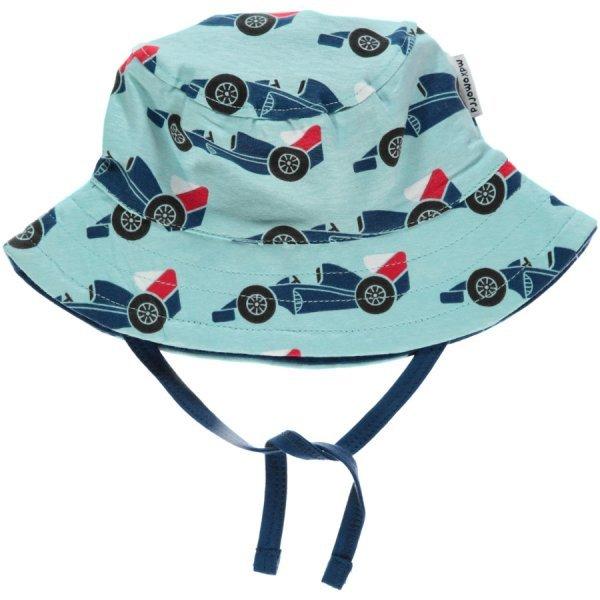 Hat Race Car in organic cotton