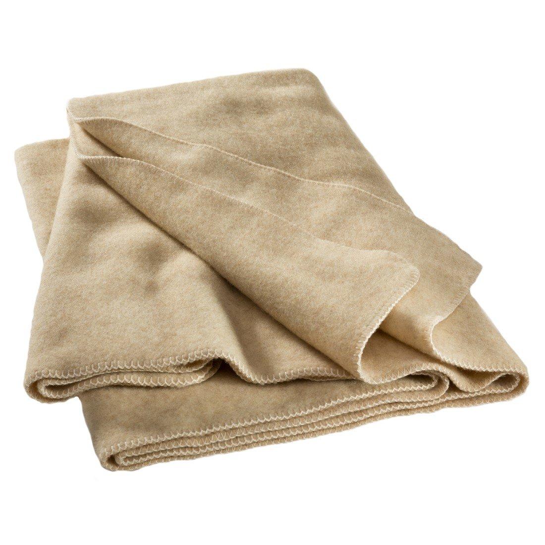 Heavy Blanket in 100% pure German wool