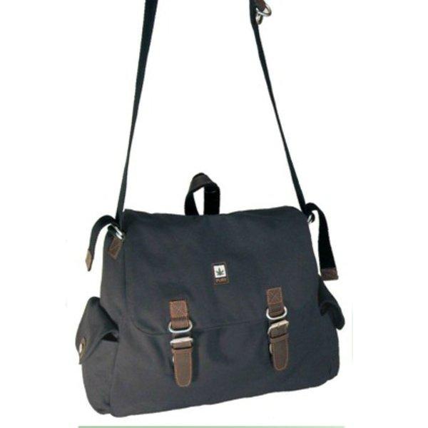 Hemp maxi shoulder bag