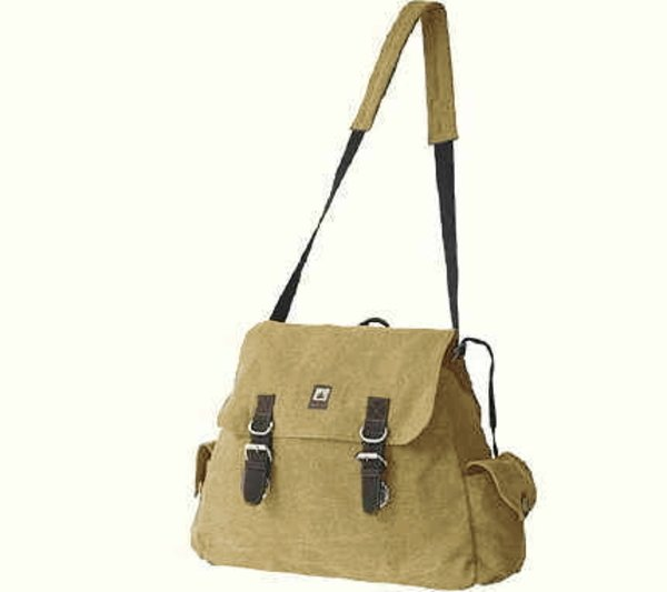 Hemp maxi shoulder bag