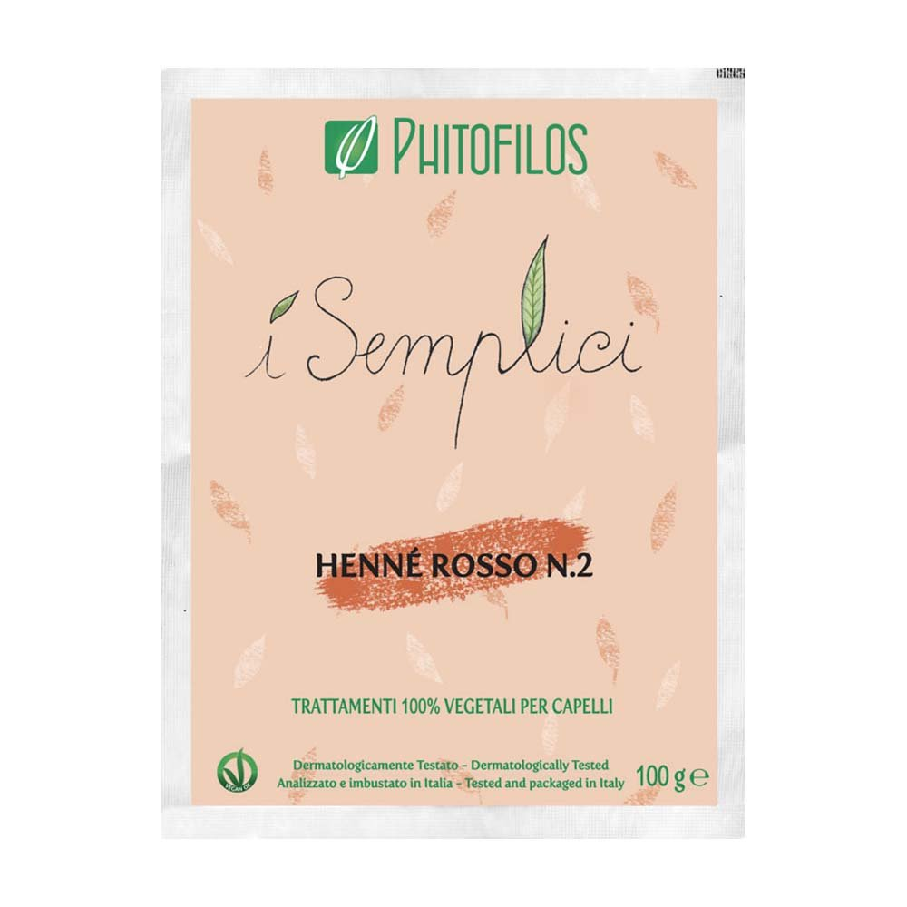 Henné Rosso n°2 Rame Phitofilos (micronizzato)