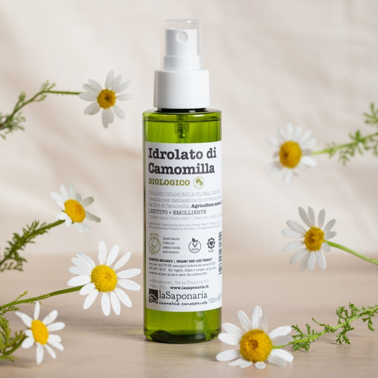 Idrolato di Camomilla Biologico Re-Bottle spray