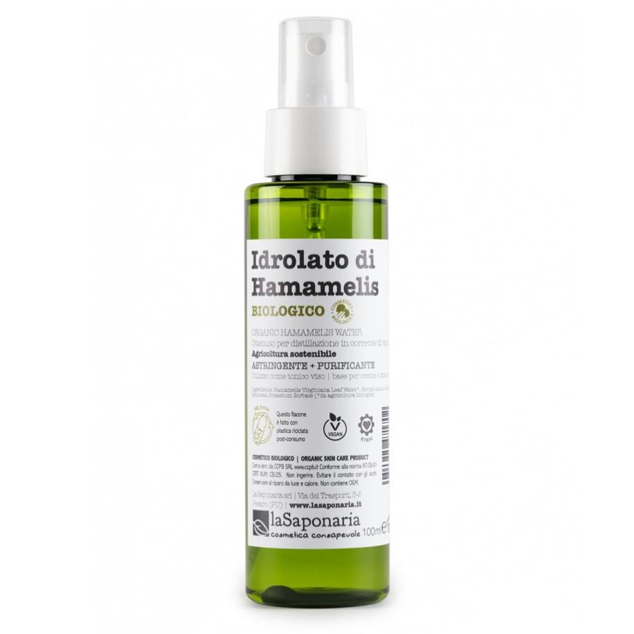 Idrolato di Hamamelis Biologico Re-Bottle spray