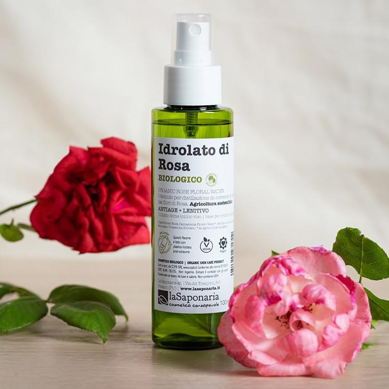 Idrolato di Rosa Biologico Re-Bottle spray