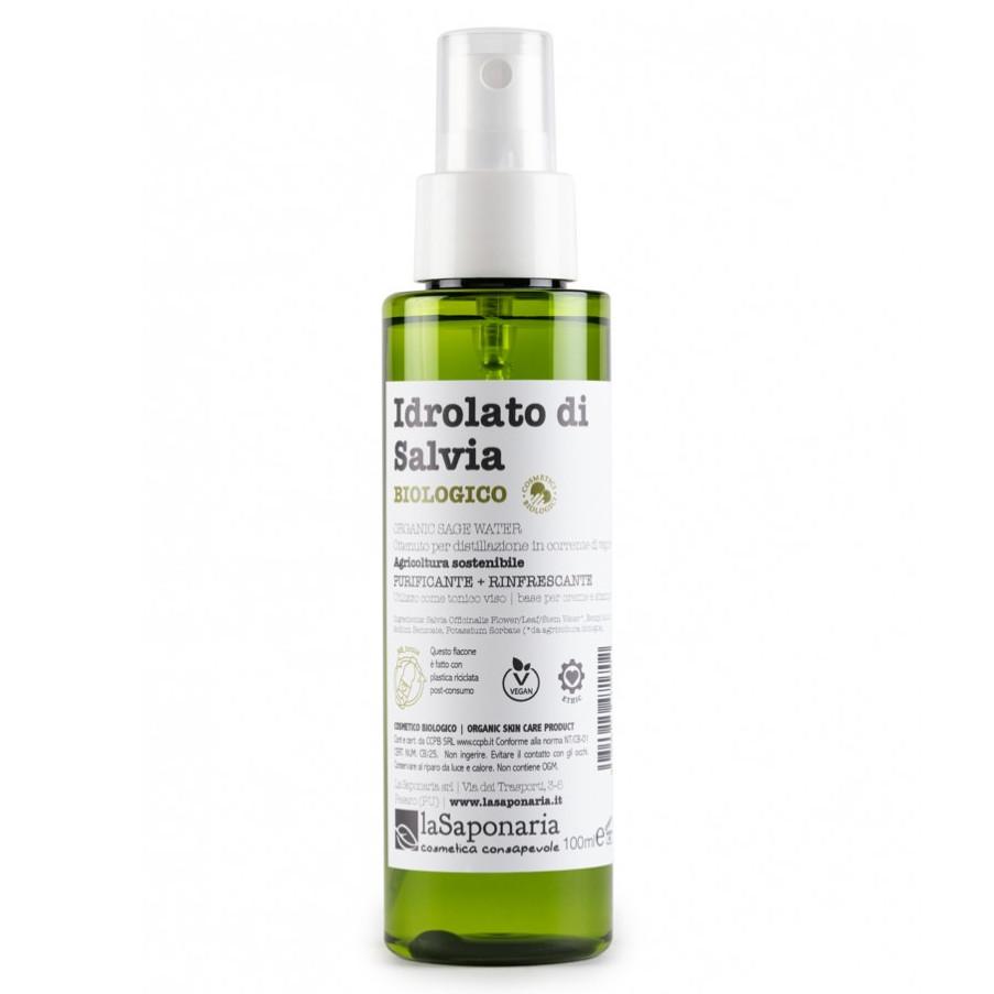 Idrolato di Salvia Biologico Re-Bottle spray