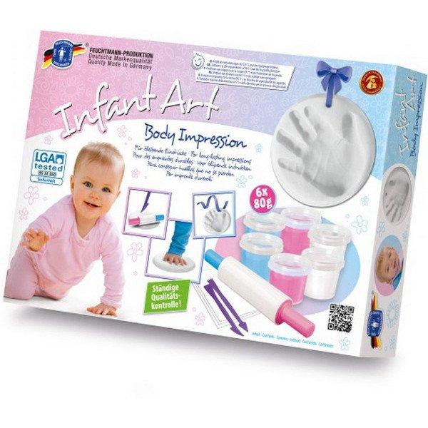 Infant art body impression