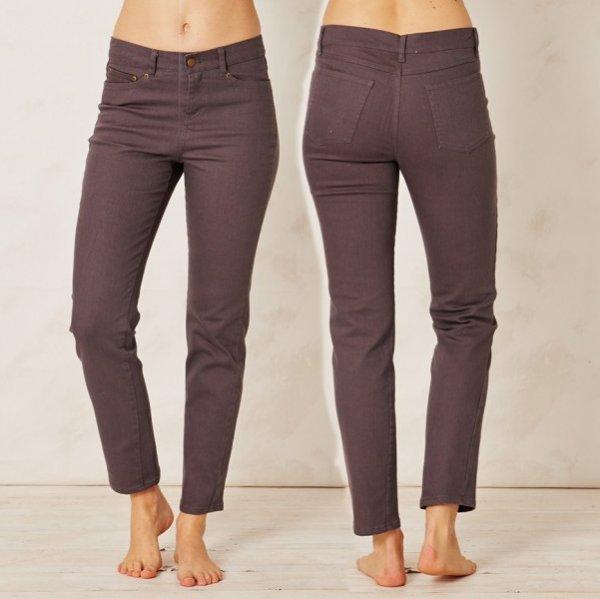 Jeans donna Wundu in cotone biologico