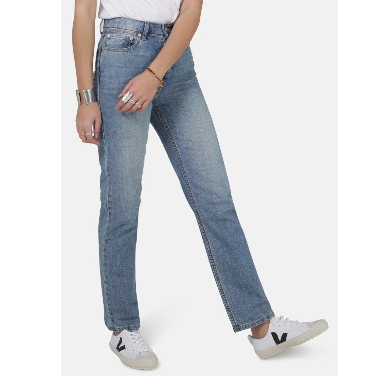 Jeans Libby Slim Fit Light Wash 100% organic cotton