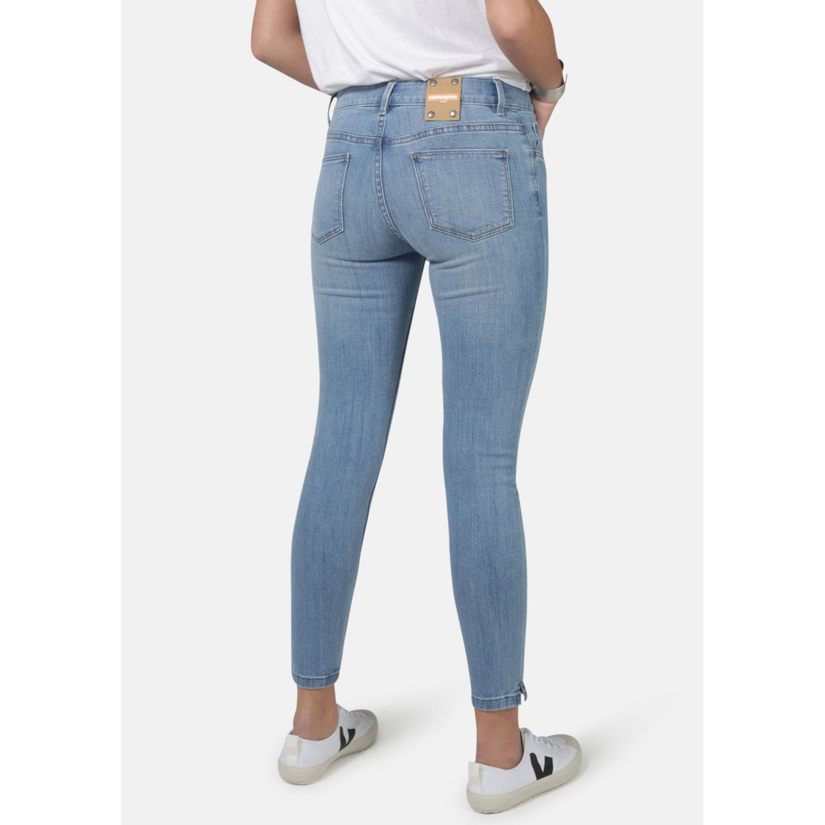 Jeans Monroe Super Skinny Light Wash in cotone biologico