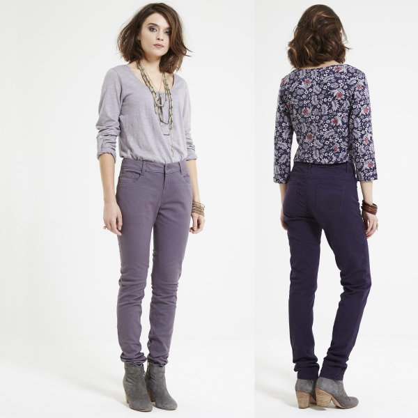 Jeans Skinny in cotone equosolidale