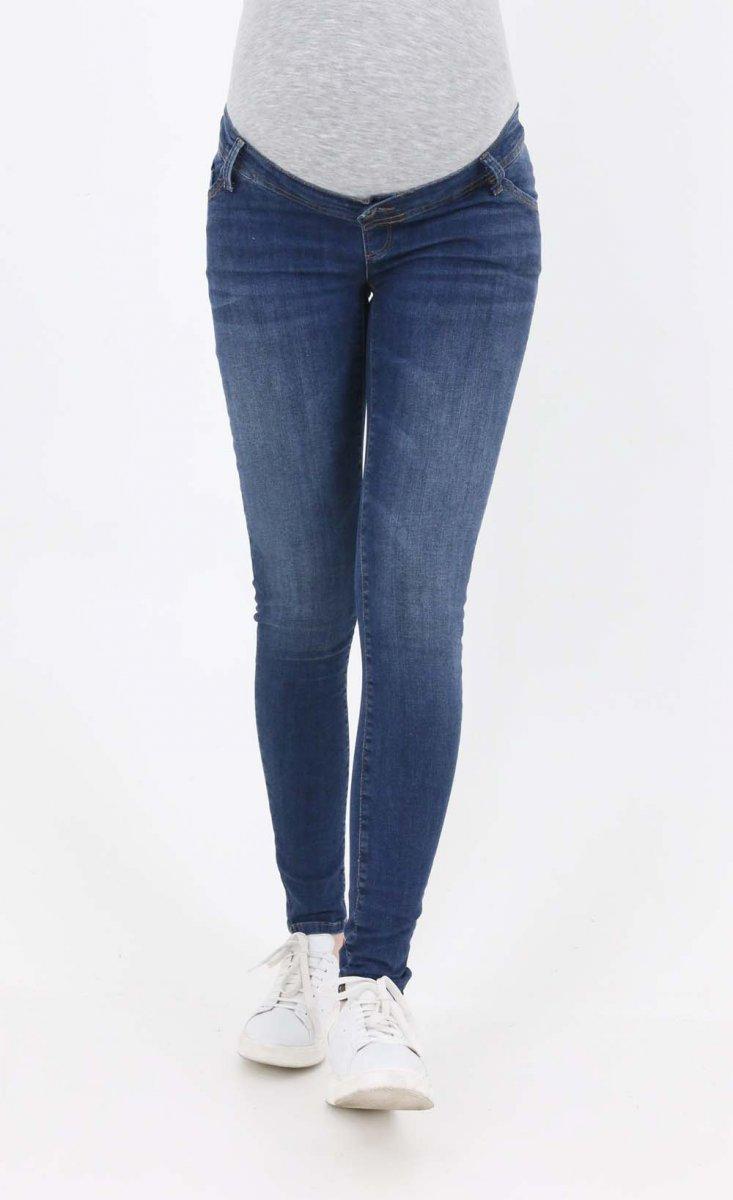 Jeans Sostenibili per Gravidanza super skinny dark wash