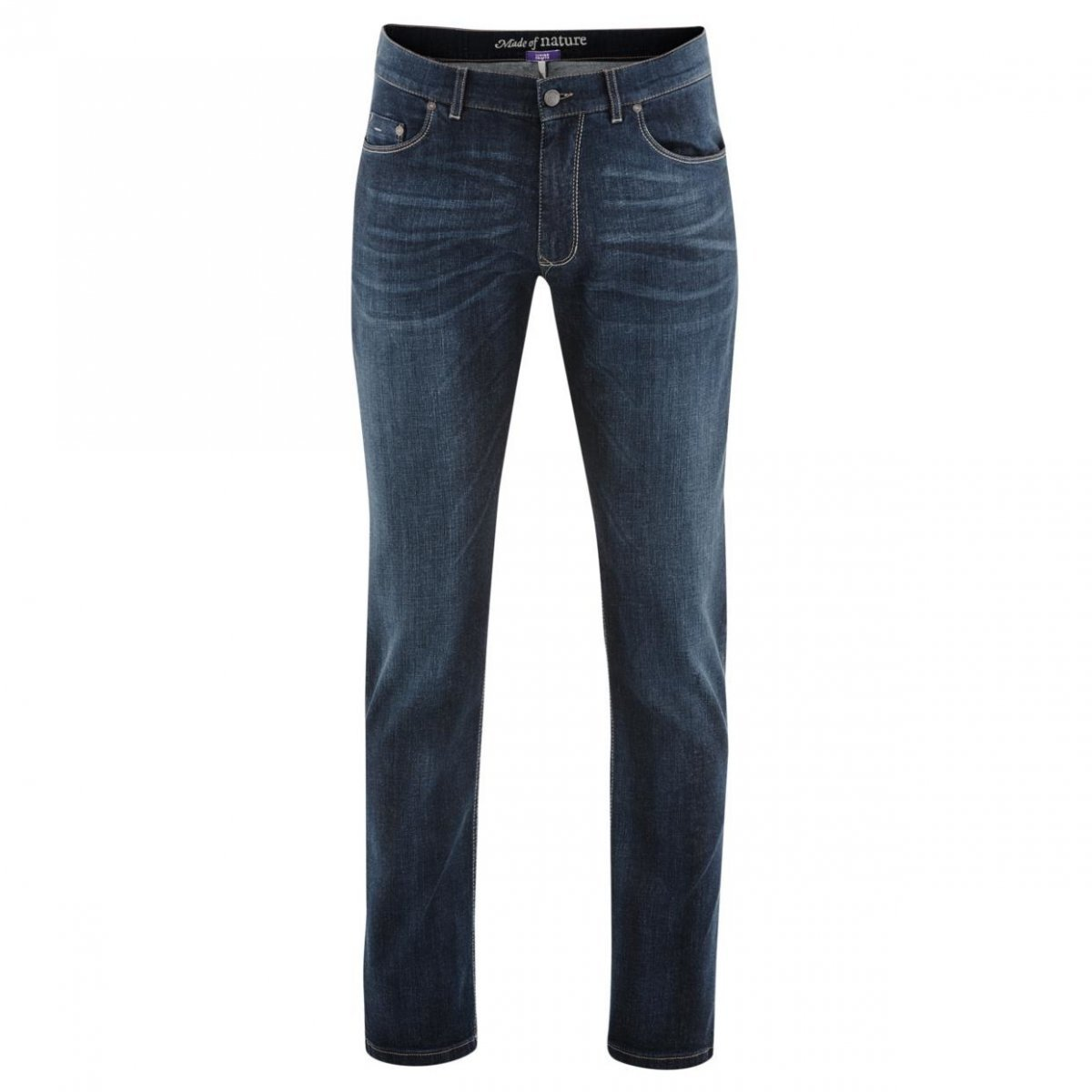 Jeans uomo Bosco in cotone biologico dark blue denim