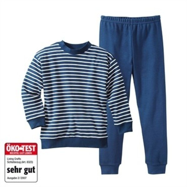 Kids blue striped pyjamas