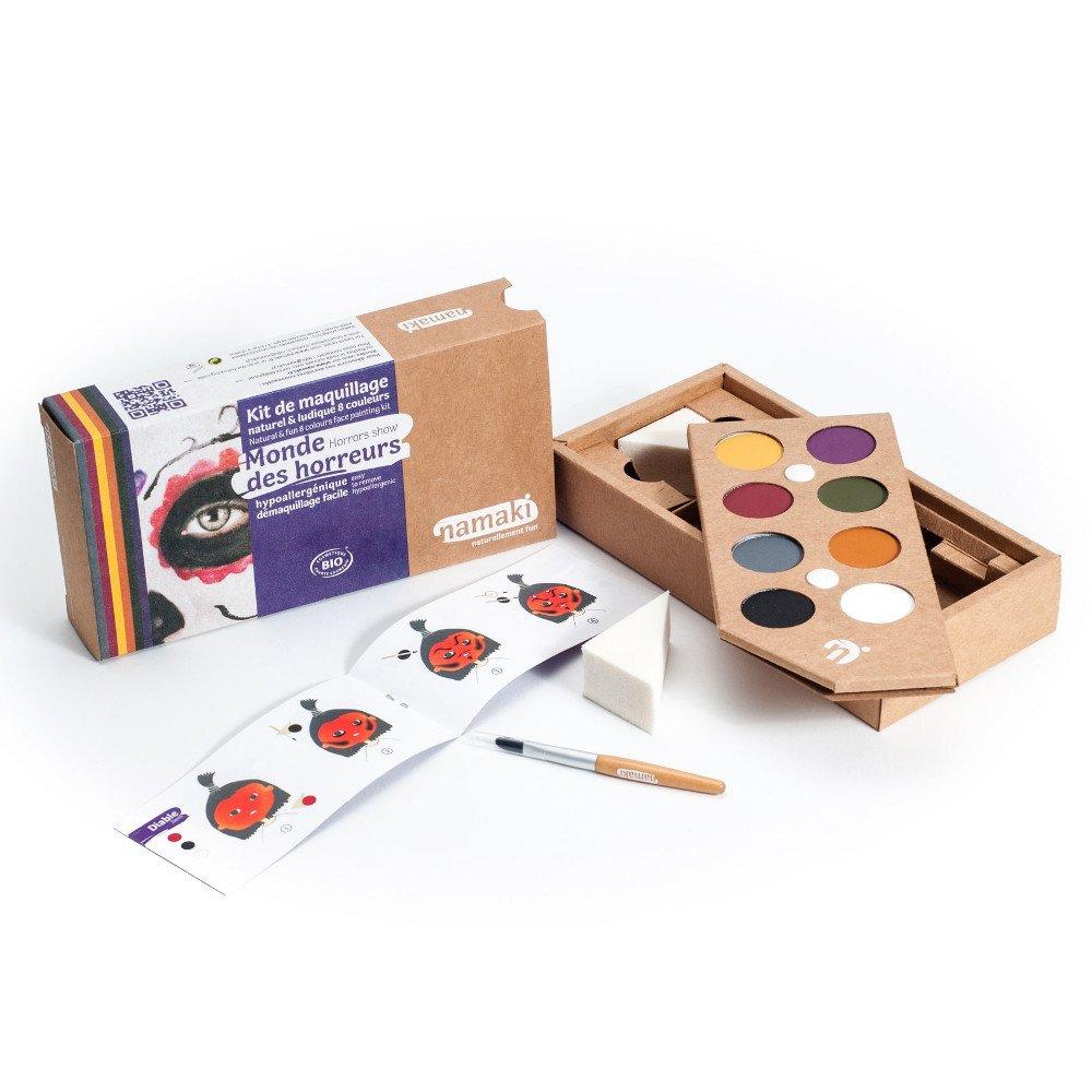 Kit make up bio 8 colori Mondo degli Orrori
