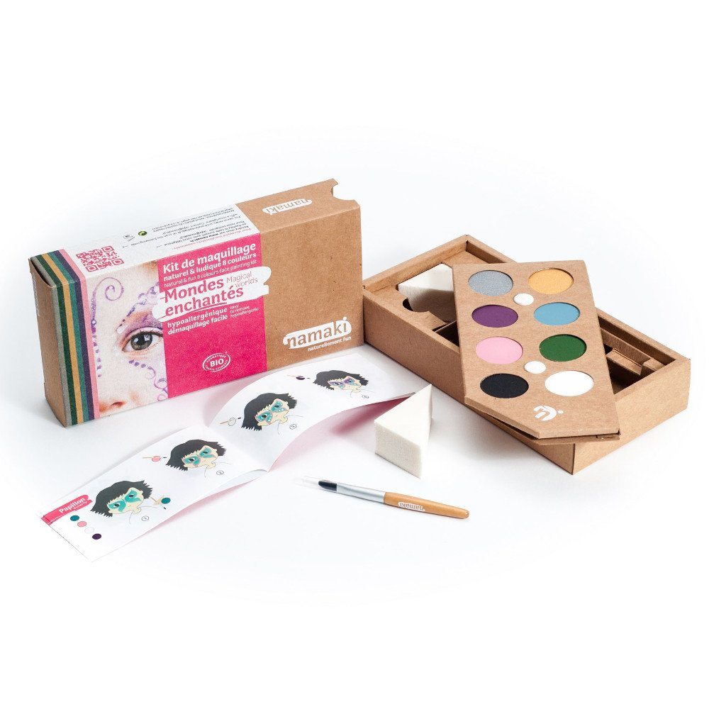 Kit make up bio 8 colori Mondi Incantati
