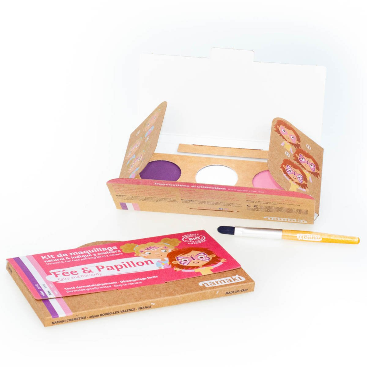 Kit organic make up Fairy and Butterfly