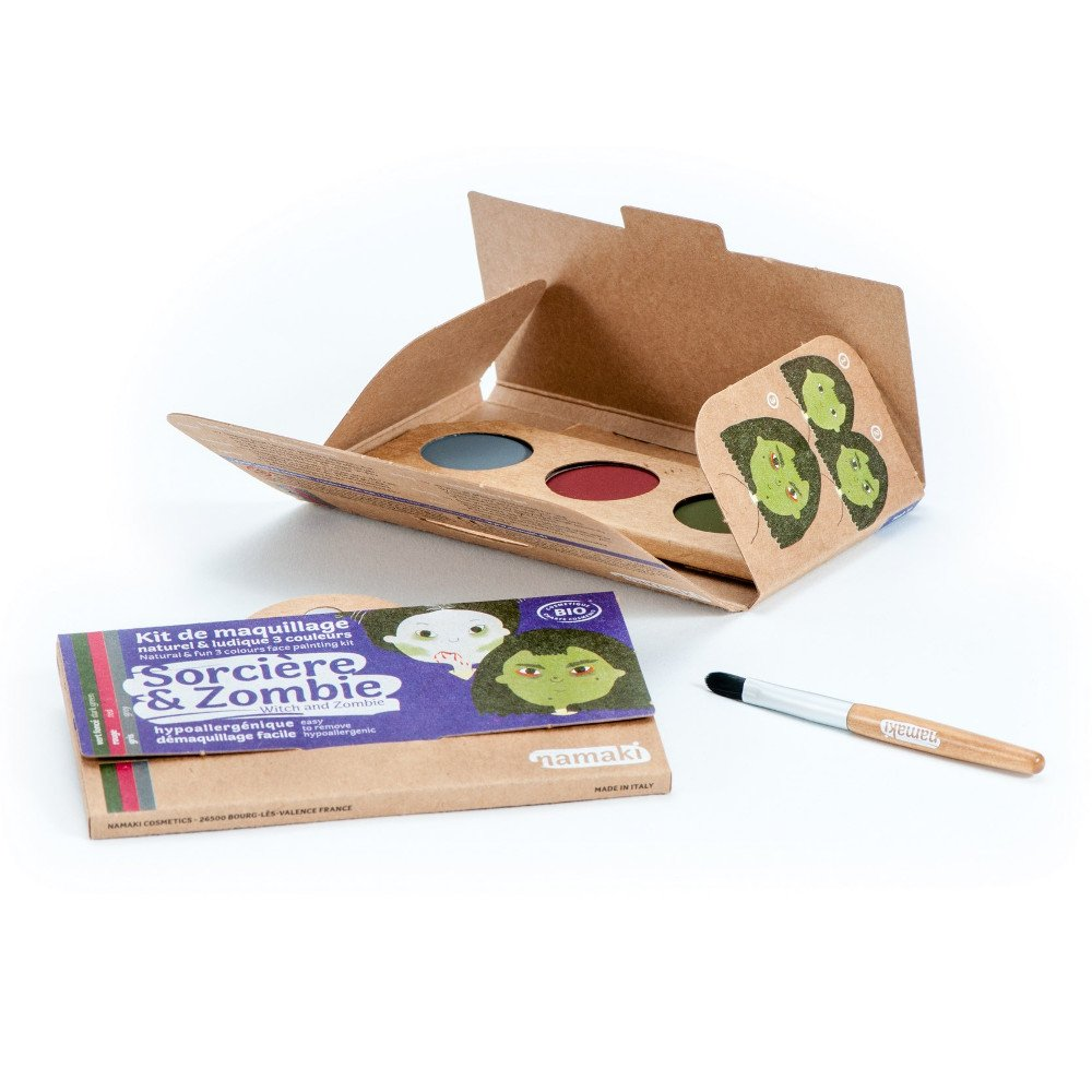 Kit organic make up Witch & Zombie