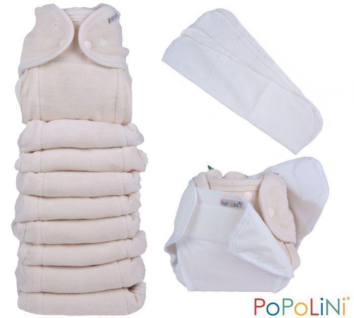 Kit risparmio Popolini OneSize Soft pannolini lavabili