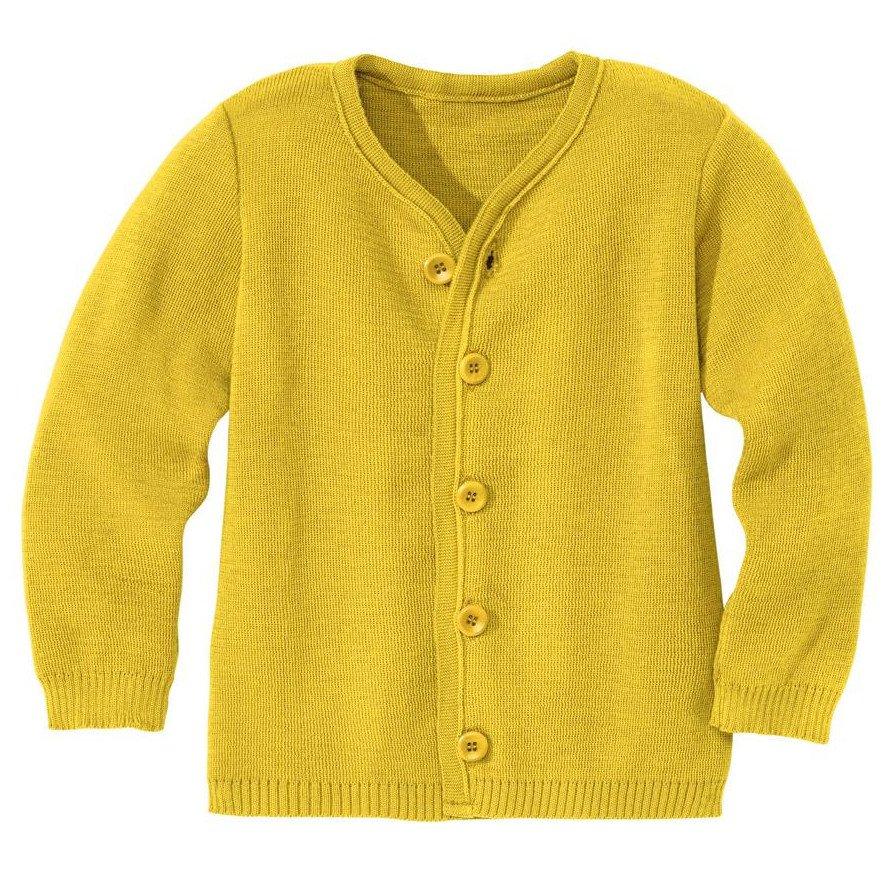 d274d8f0aab Knitted jacket disana in organic merino wool - Disana