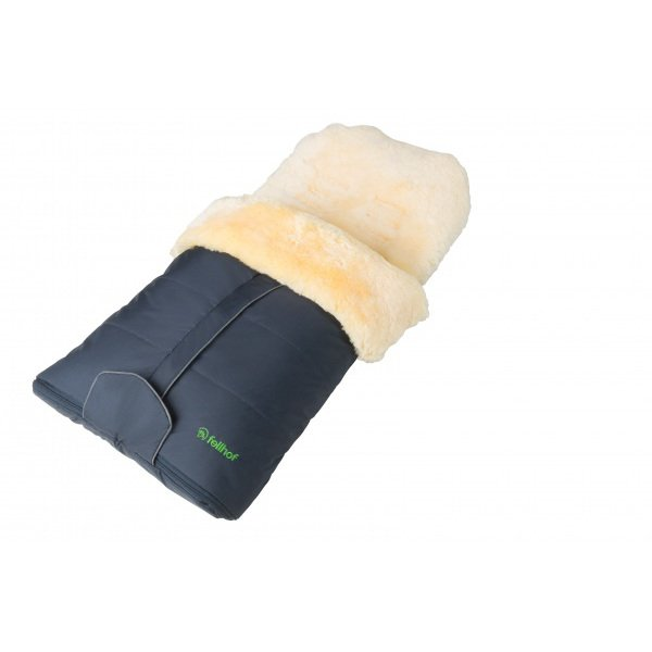 Lambskin sleeping bag CORTINA for prams