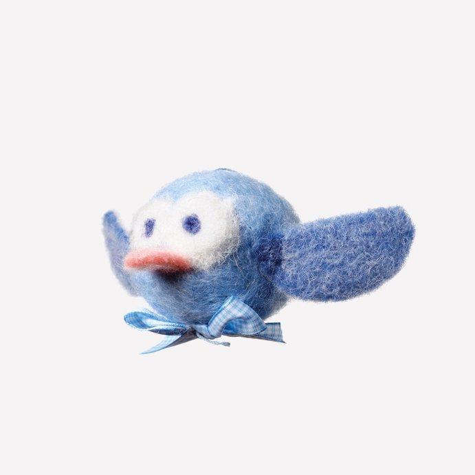 Kit Mobilaria: uccellino Baby in lana naturale fai-da-te