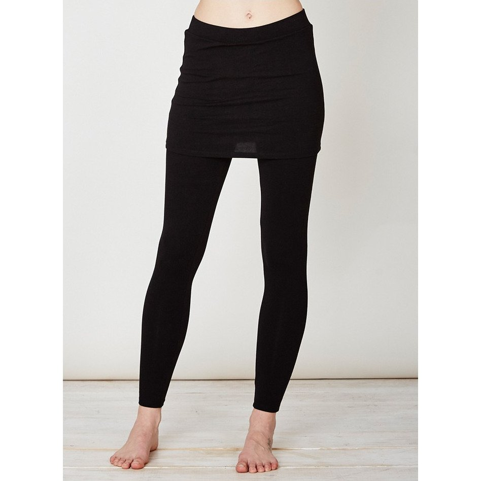 Legging donna con gonna Jay in bamboo