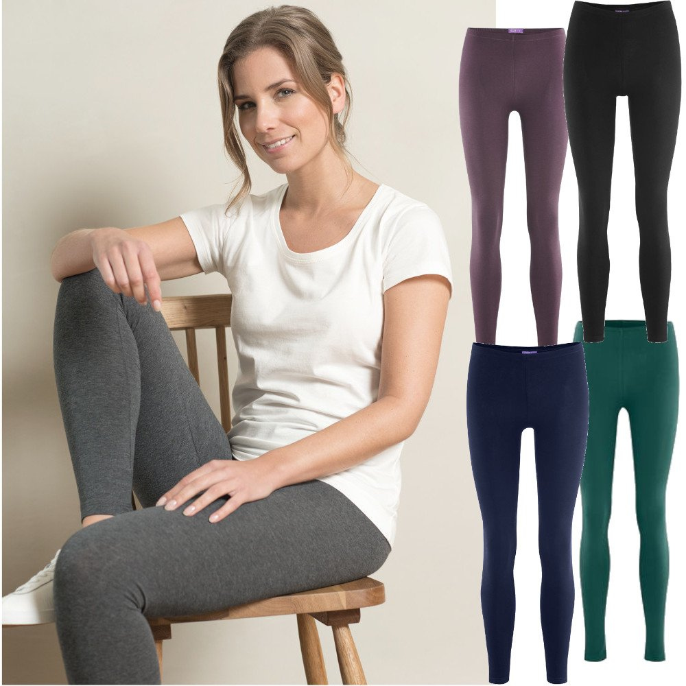 Leggings donna in cotone biologico