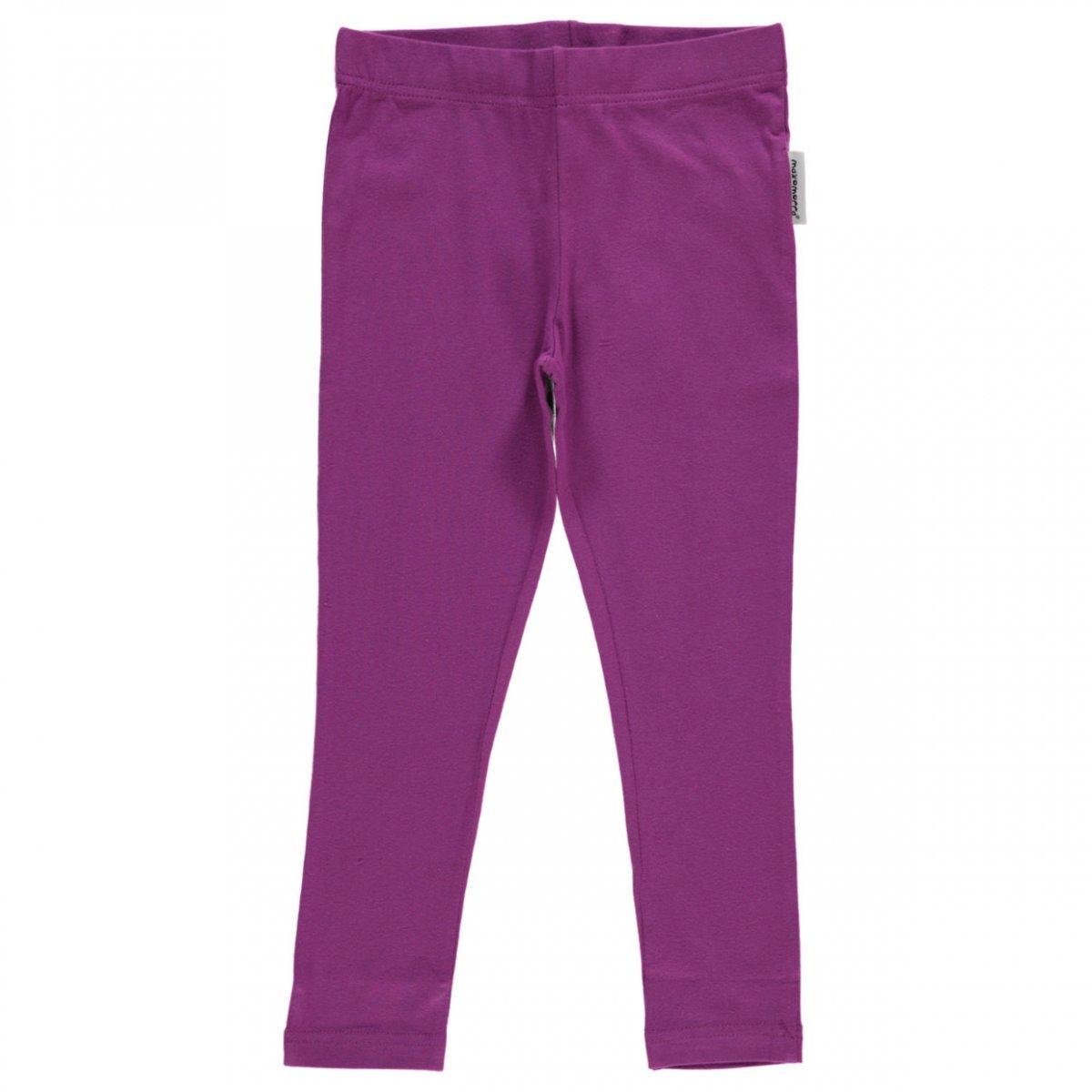 Leggings Purple in organic cotton