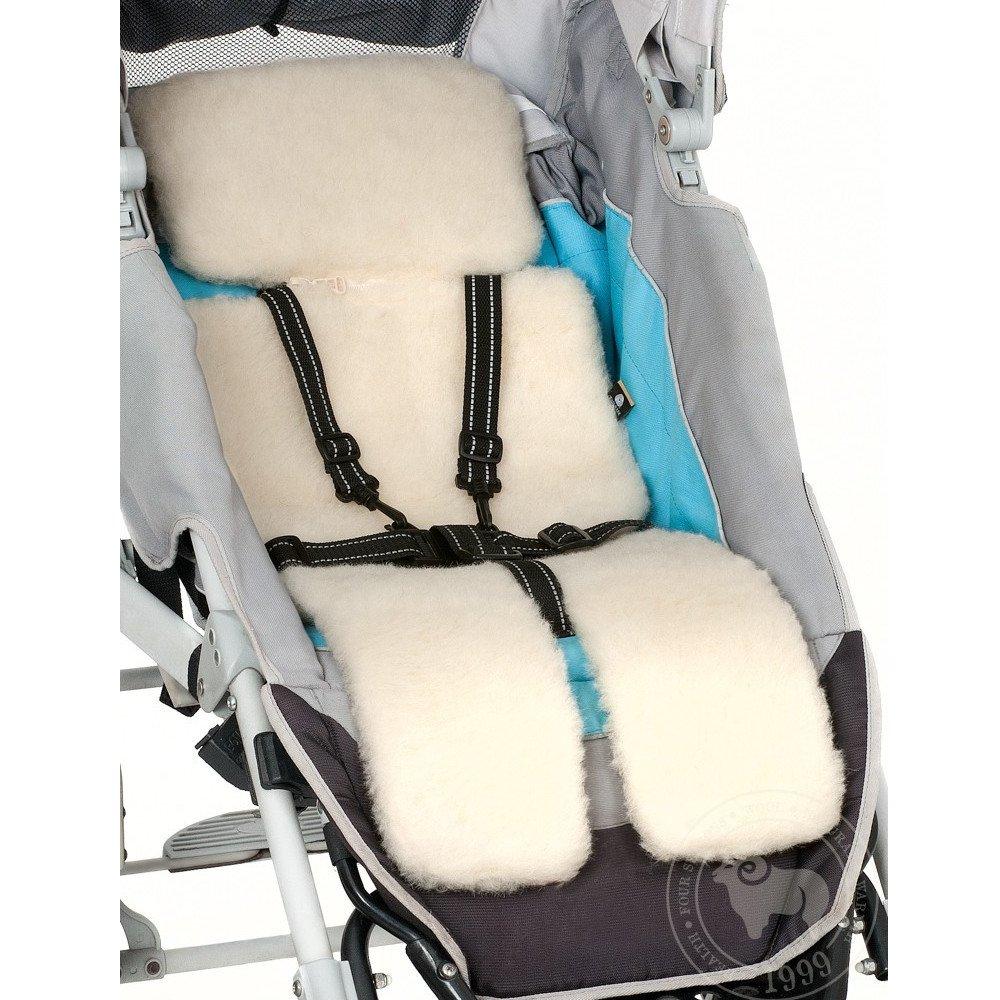 Liner for stroller in merinos wool