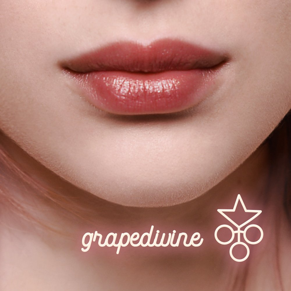 Lip balm antiage colorato Grapedivine Vegan