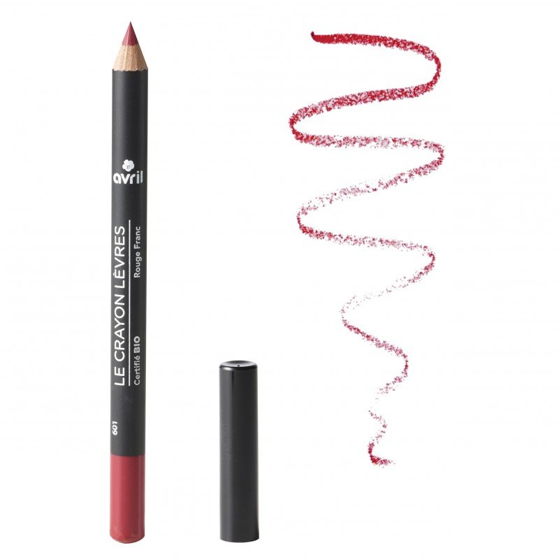 Lip pencil Red Rouge franc organic