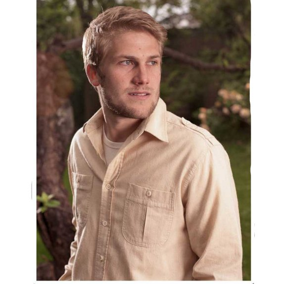 Long sleeve men shirt Hempro in hemp