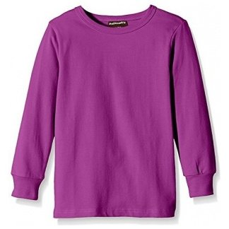 Long sleeve shirt Purple in organic cotton