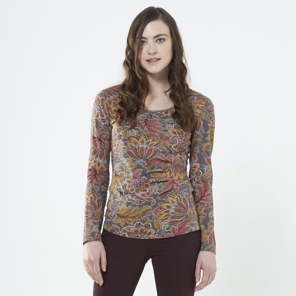 Long sleeve shirt Aurora in organic cotton