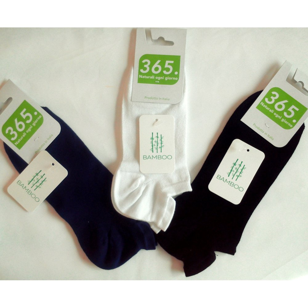 Low cut man socks in bamboo