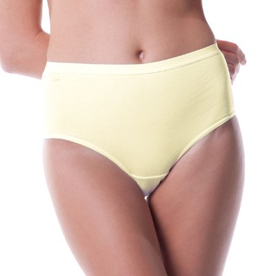Low rise woman brief in organic cotton