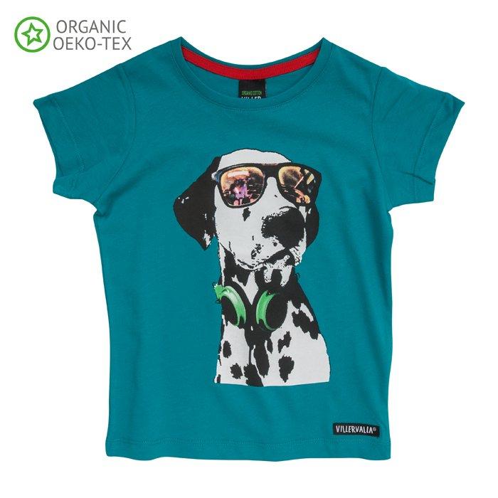 Maglia t-shirt Dalmata in cotone biologico