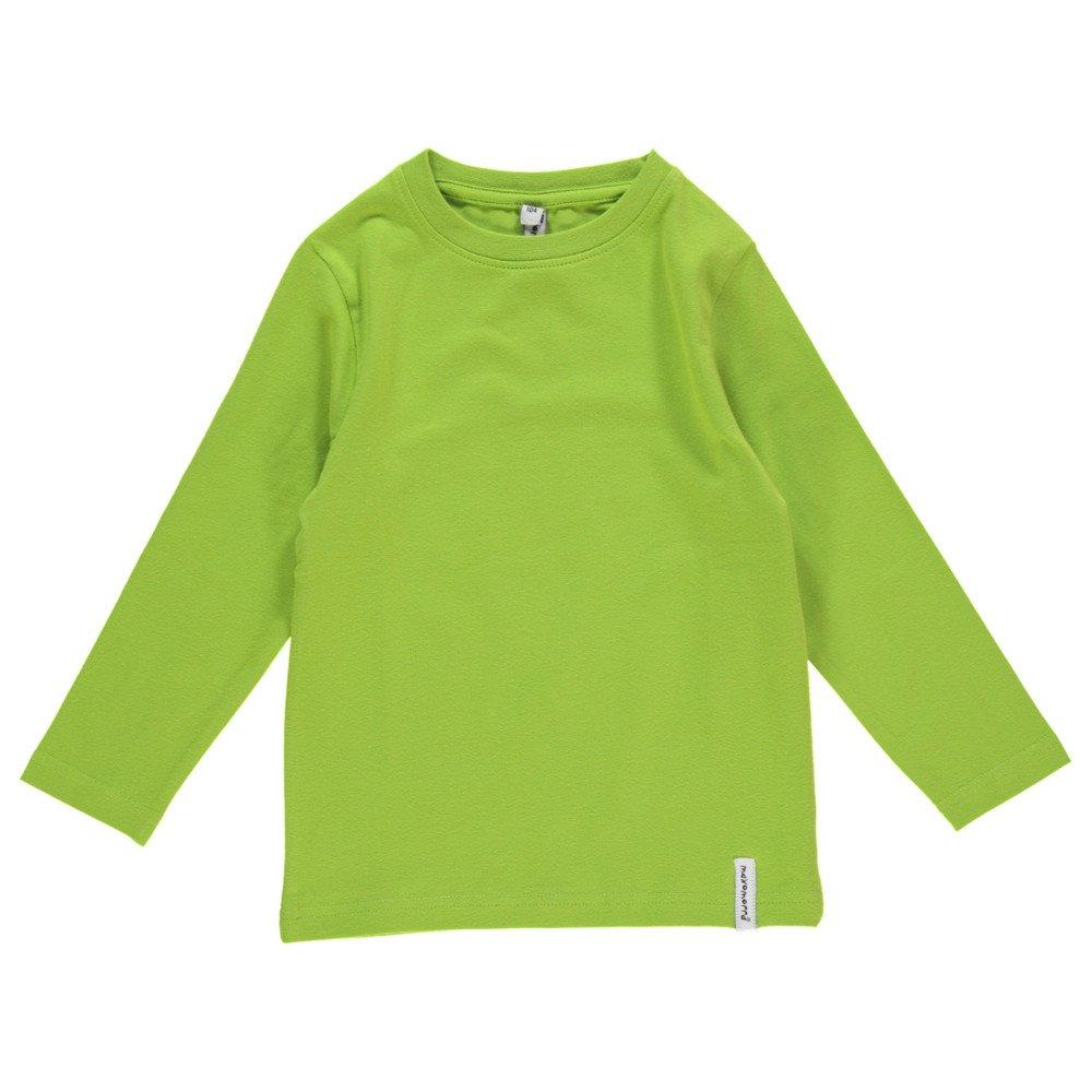 Maglia maniche lunghe Verde in cotone biologico